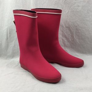 NWT Kamik Rubber Boots Waterproof Pink New In Box